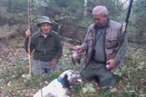Cazando Becadas en Hiiumaa con Jose Maria